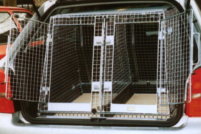 Vehicle Dog Cages Goldenacresdogs Com