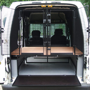 Custom Made Dog Containment For Vans